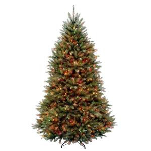 6.5 ft. Dunhill Fir Artificial Christmas Tree with 650 Multi-Color Lights