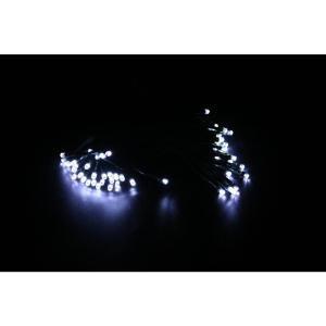 60-Light White LED's Solar String Lights - Display of 8