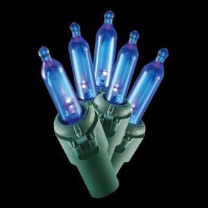 100-Light LED Blue Mini Light Set