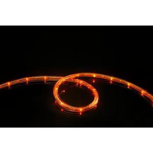 108-Light 16 ft. Orange All Occasion Indoor Outdoor LED Rope Light Decoration (2-Pack)
