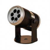 5 in. High Electric Projector with Christmas Snowflake Image