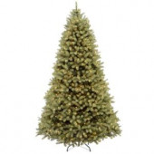 7.5 ft. FEEL-REAL Downswept Douglas Fir Artificial Christmas Tree with 1000 Clear Lights