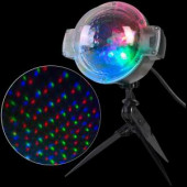 LED Projection-SnowFlurry 61 Programs Stake Light