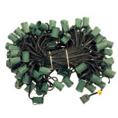 C9 100 ft. Cord with Sockets (5-Set/Carton)