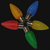 C9 LED Multi-Color Retro-Fit Bulb (250-Piece)