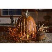 12 in. x 18 in. Orange Great Pumpkin Lantern