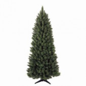 6.5 ft. Green Spruce Corner Artificial Christmas Tree