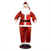 72 in. Animated Dancing Santa