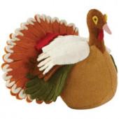 10 in. Wool Felt Turkey