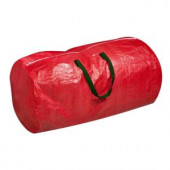 Red with Green Handles Tree Storage Bag