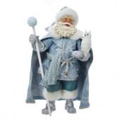 11 in. Fabriche Father Frost Santa