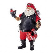 11 in. Fabriche Motorcycle Santa
