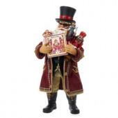 11 in. Fabriche Musical Drosselmeier Santa