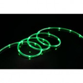 9 ft. LED Green Mini Rope Light