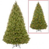 16 ft. Feel Real Bayberry Spruce Hinged Memory Shape Artificial Christmas Tree with 2500 Dual Color LED Lights