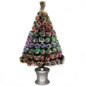 3 ft. Fiber Optic Evergreen Flocked Artificial Christmas Tree