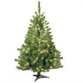 4 ft. Kincaid Spruce Artificial Christmas Tree with Clear Lights