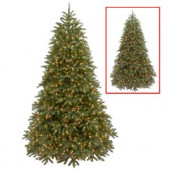 7.5 ft. Jersey Fraser Fir Medium Artificial Christmas Tree with Dual Color LED Lights