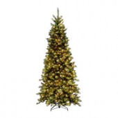 9 ft. Tiffany Slim Fir Artificial Christmas Tree