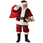Extra Large Crimson Regency Santa Suit Costume