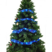 12 ft. 36-LED Blue Ribbon Lights