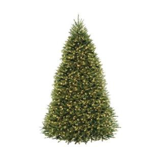 10 ft. Dunhill Fir Artificial Christmas Tree with 1200 Clear Lights