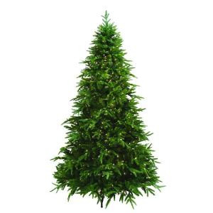 7.5 ft. Pre-Lit Ultima Artificial Christmas Tree with Clear and Multi-Colored 8-Function LED Lights