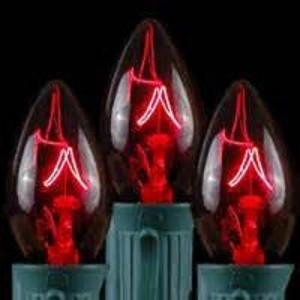 C9 Red Replacement Christmas Light Bulbs (Case of 250)