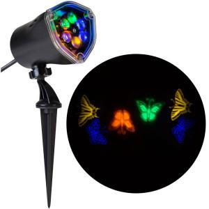 11.81 in. Projection-Whirl-a-Motion-Butterflies (BGOY) Light Stake