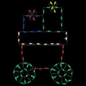 31 in. Pro-Line LED Wire Decor Train Car