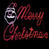 47 in. x 24 in. Merry Christmas Motif