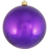200 mm Vivacious Purple Shatterproof Ball (Pack of 6)