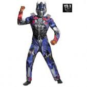 Boys Transformers 4 Optimus Prime Classic Muscle Costume