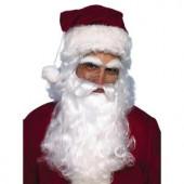 Economy Santa Beard and Wig Set
