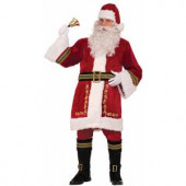 Premium Classic Santa Suit Standard Size Adult