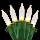 100-Light LED Warm White Mini Light Set