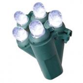 200-Light LED Cool White Dome Light String
