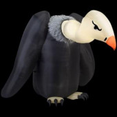 77.17 in. W x 90.16 in. D x 64.57 in. H Inflatable Vulture