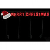 LED Message - Merry Christmas/Santa Hat
