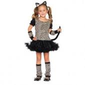 Girls Little Leopard Costume