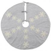 52 in. Snowflake Christmas Tree Skirt