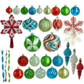 Alpine Holiday Shatter-Resistant Ornament (100-Count)