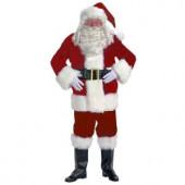 XXL Professional Velvet Santa Claus Suit