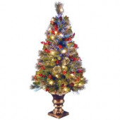 4 ft. Fiber Optic Crestwood Spruce Artificial Christmas Tree