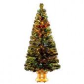 5 ft. Fiber Optic Radiance Fireworks Artificial Christmas Tree