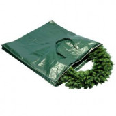 Heavy Duty Wreath and Garland Storage Bag with Handles and Zipper-Fits Up to 4 ft.