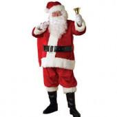 Adult XXL Regency Plush Santa Suit